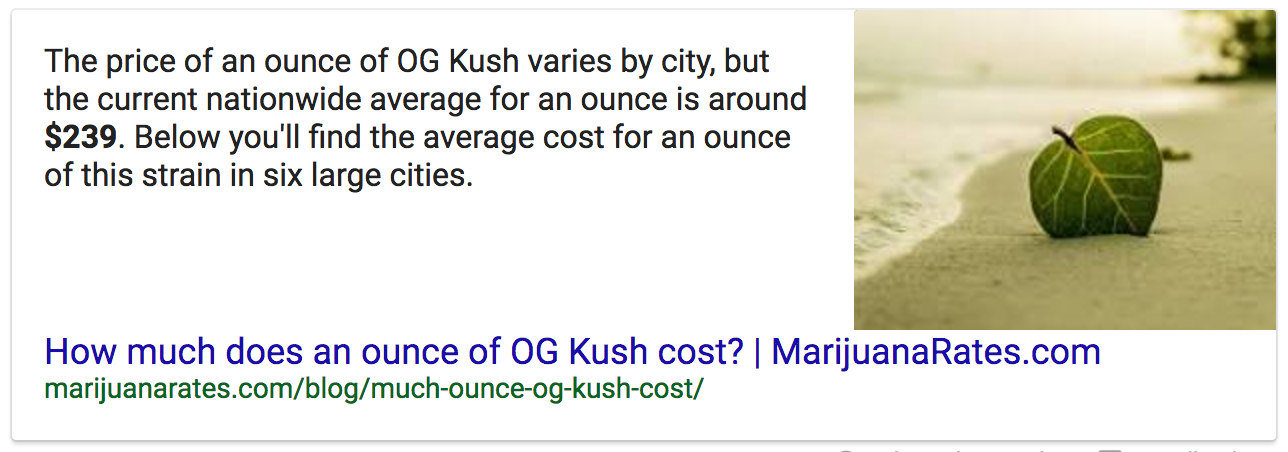 og-kush-google-answer-box