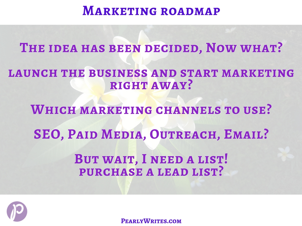 Marketing Roadmap Questions