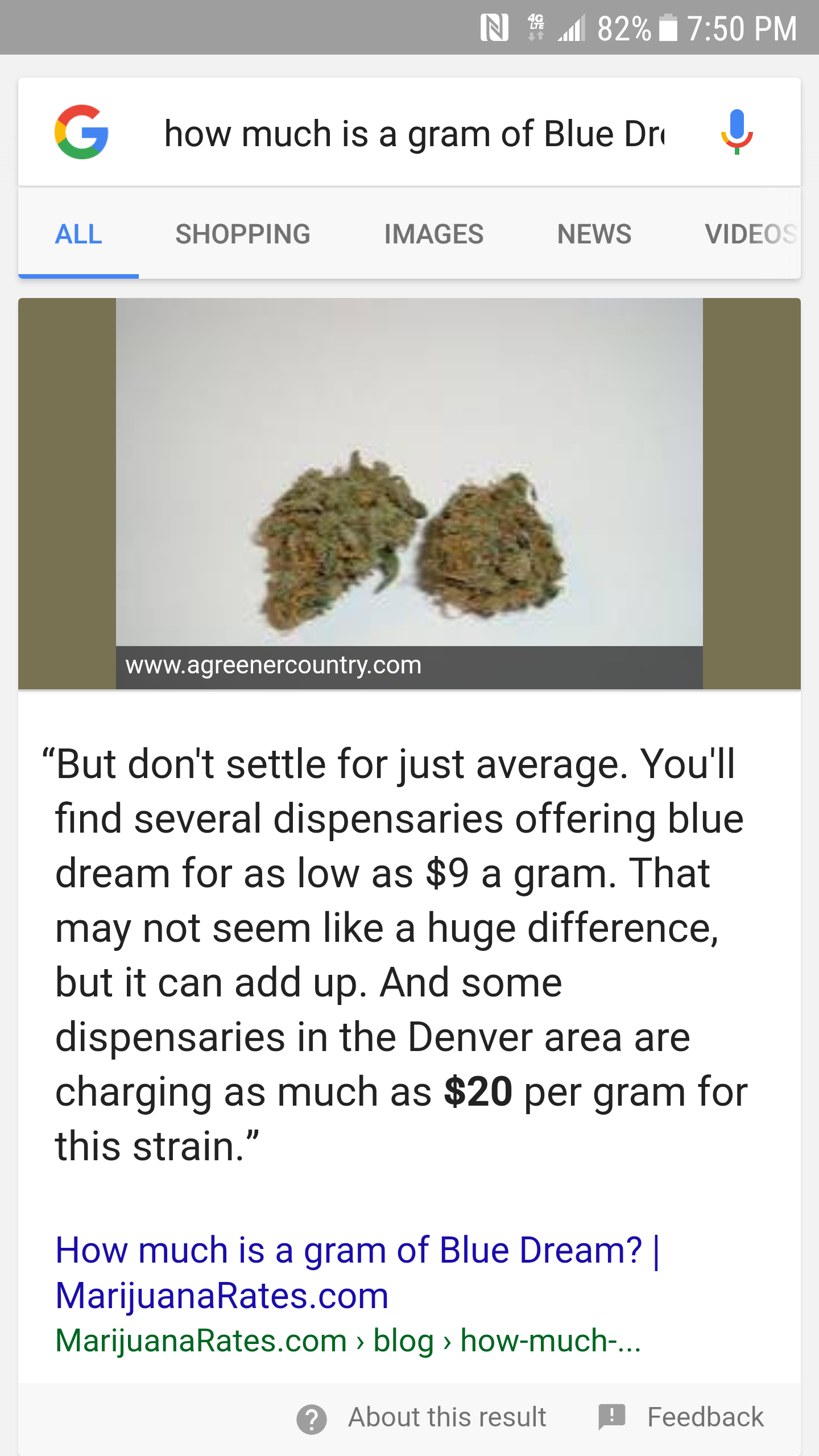 blue-dream-google-answer-box